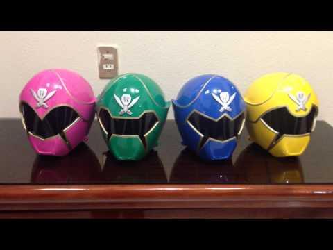 Gokaiger Power Rangers Super Megaforce Helmet Prop