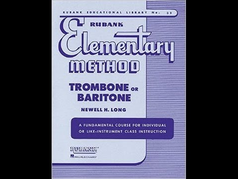 Rubank Elementary Method for Trombone or Baritone - Lesson 39