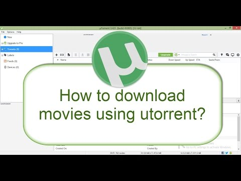 How to download movies from extratorrents | rarbg | piratesbay |yts using utorrent ? beginners 2017
