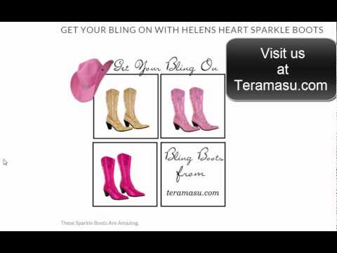 Helens Heart Bling Boots Review