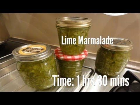 Lime Marmalade Recipe