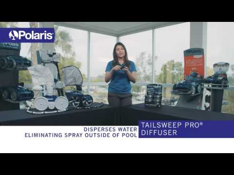 Maximize Your Pressure Cleaner's Performance with the Polaris TailSweep Pro