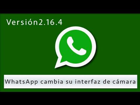 WhatsApp cambia su interfaz de cámara y añade una tira de carrete (Android)