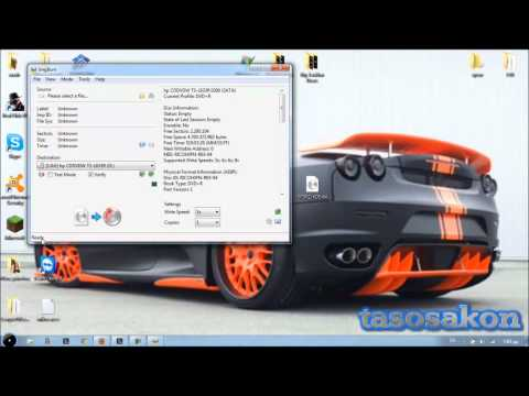 How to burn Bootable disc CD-DVD .ISO file