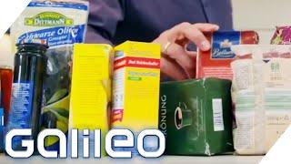 Gefälschte Lebensmittel im Supermarkt! So erkennt man illegale Tricks   Galileo   ProSieben
