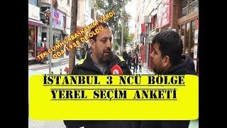 İstanbul 3 ncü Bölge Yerel Seçim Anketi