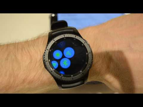 Samsung Gear S3 - Remote Control Phone settings from your Watch!