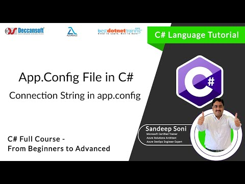 C# tutorial for beginners - App.Config Configuration in C#
