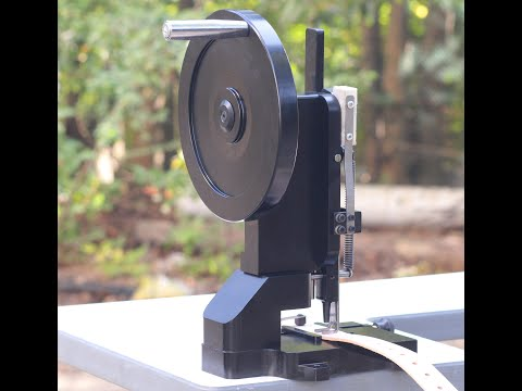 CowBoy 8500 hand operated rotary hole punching machine