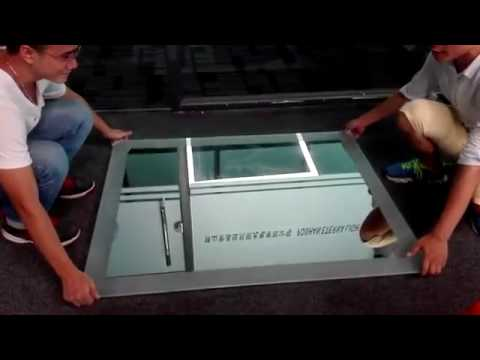 How to install the LED backlit mirror- video