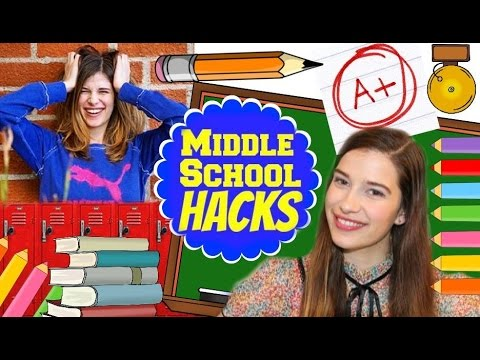 MIDDLE SCHOOL LIFE HACKS!!!