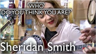 Actress Sheridan Smith Embraces Her Banjo Past   Who Do You Think You Are