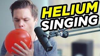 singing with helium