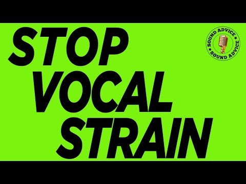 STOP STRAINING TO SING / Singing Lesson / Rock the Stage NYC