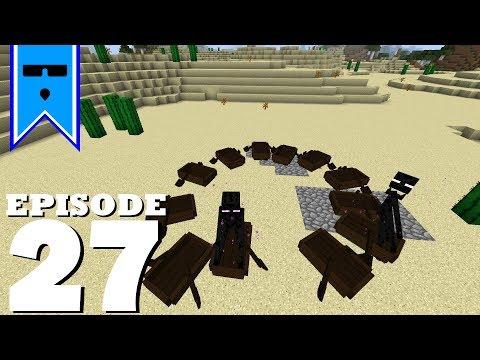 Kruncky's SSP - Episode 27 - Most Inefficient Overworld Ender Farm  // Single Player Minecraft 1.12