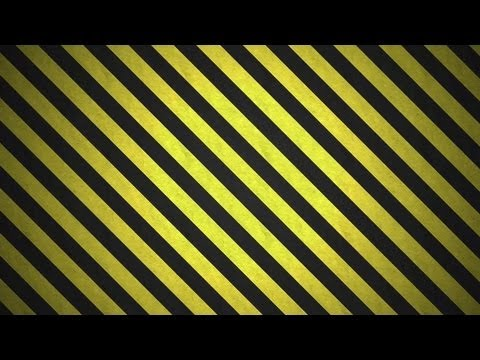Photoshop Tutorial: How to create a Caution Stripes Pattern