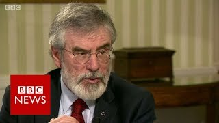 """""""Why did you not join the IRA?"""" Gerry Adams (FULL INTERVIEW) - BBC News"""