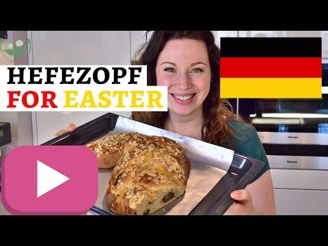 GERMAN OSTERZOPF Recipe | Sweet German Easter Bread