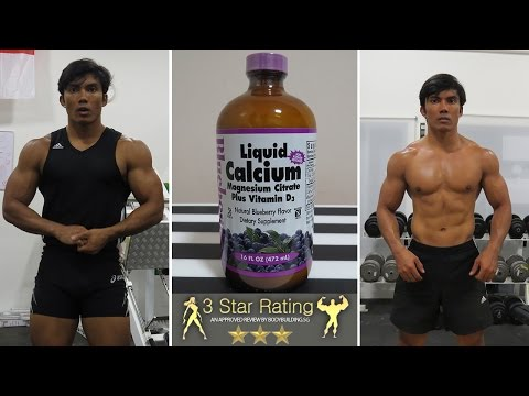 Bluebonnet Nutrition Liquid Calcium Magnesium Citrate Plus Vitamin D3