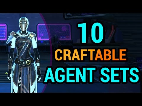 10 Agent Armors You Can Craft in SWTOR