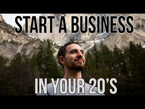 How to start a business in your 20s