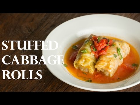 How To Make Stuffed Cabbage Rolls - Japanese Version (Recipe) ロールキャベツの作り方 (レシピ)