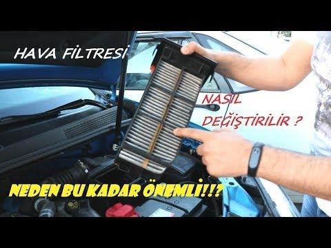 Dacia Sandero Stepway Hava Filtresi Değişimi