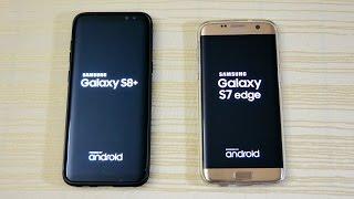Galaxy S8 vs S7 Edge - Speed Test! (4K)