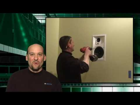 Installing an In-Wall Speaker