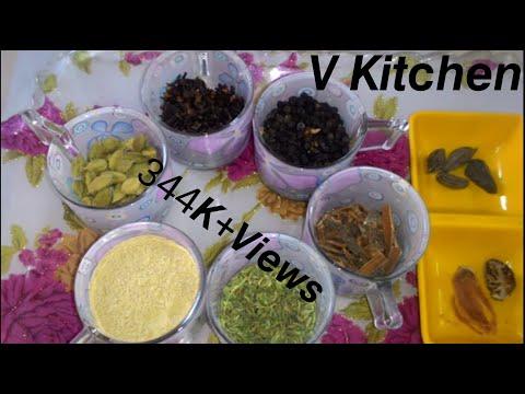 Homemade Tea(chai)Masala Powder,Secret Ingredients And Aromatic Indian Tea,By- Dr.Anamika Johari.