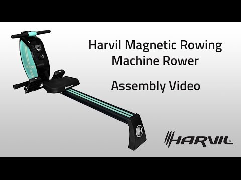 Assembly Video | Harvil Magnetic Rowing Machine Rower | Dazadi.com