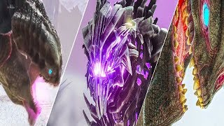 SPAWN ALL the BOSS Portals in ARK Survival Evolved | GFI