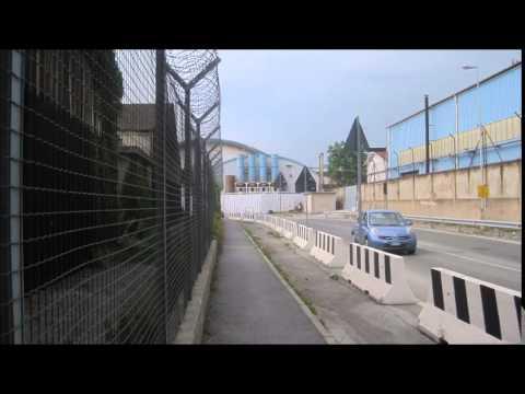 Walking: Cristoforo Colombo Airport to Sestri Ponente Aeroporto Train Station