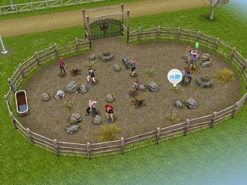 SIMS FREEPLAY-SADDLE UP QUEST