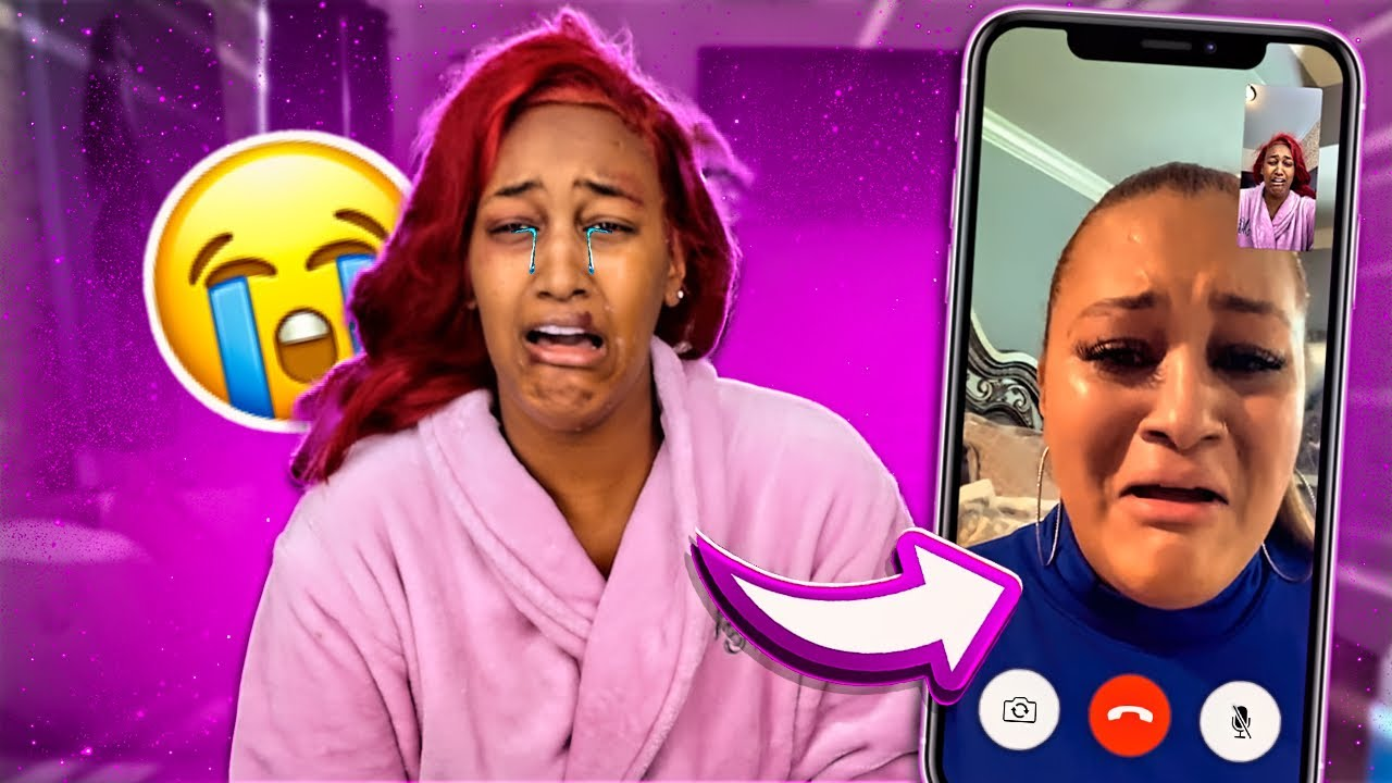 Telling My MOM My Boyfriend Beat Me Up Too See Her Reaction!!!💔 **bad idea**