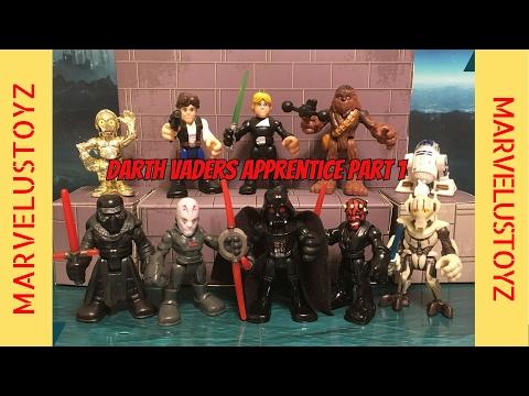 Darth Vaders Apprentice Part 1!   Star Wars Playskool Heroes