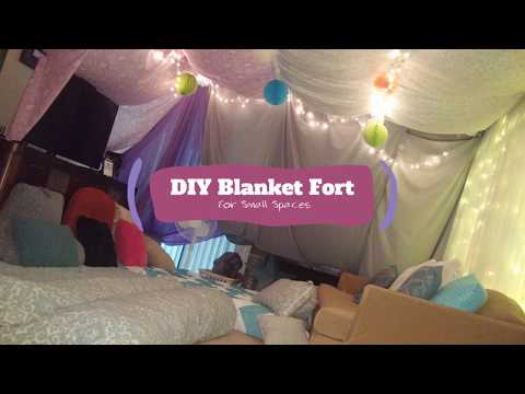 DIY Blanket Fort (For Adults!)