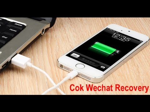 How to Recover Deleted Wechat Messages on iPhone