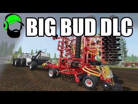 Farming Simulator 17 Big Bud DLC - Those seeders you always wanted -#FS17