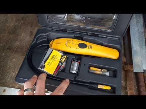 Detecting Refrigerant Freon Leaks With My CPS LS3000 Leak Detector