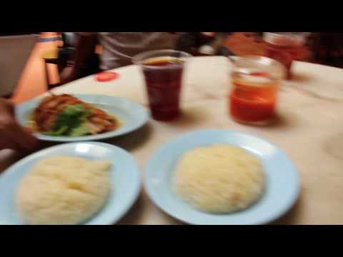 Malacca (Melaka) - Food Must Try at Jonker Walk Chicken Rice Ball
