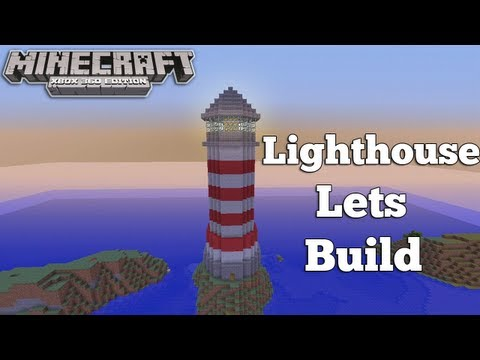 Minecraft Xbox 360 - Lighthouse Lets Build