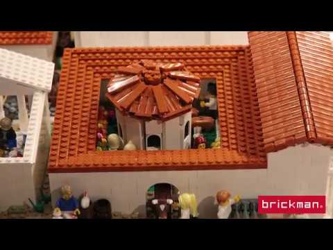 Throwback Thursday: LEGO® brick Pompeii
