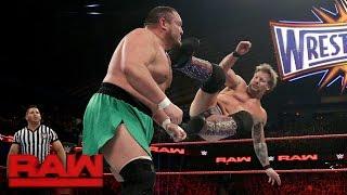 Chris Jericho vs. Samoa Joe: Raw, March 6, 2017