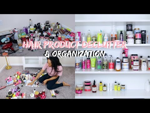 Hair Product Declutter & Organization + A Look at My Collection!
