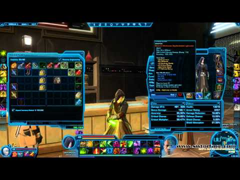 Upgrading Armor And Mods In SWTOR