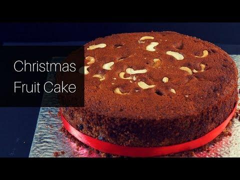 Christmas Fruit Cake - Plum Cake - Traditional Christmas Cake - Fruit Cake -Soaked Fruits Cake