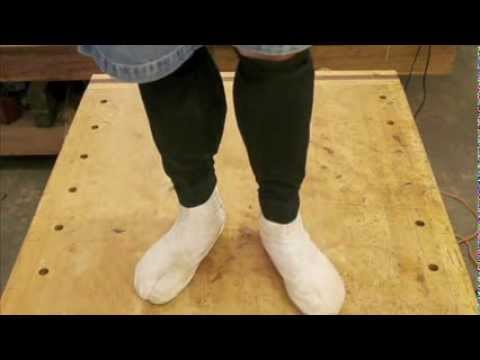 How to Make Kyahan Leg Covers from Pants