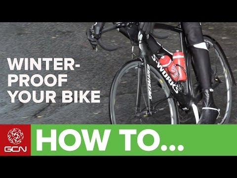 How To Adapt Your Bicycle For Winter Riding - Winter-Proof Your Road Bike