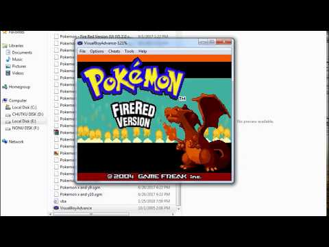 How To Download Pokemon FIRE RED in PC ?? 2018 LATEST 100%SUCCESS...